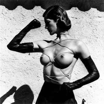 Helmut Newton-Tied-up Torso, Ramatuelle-1980