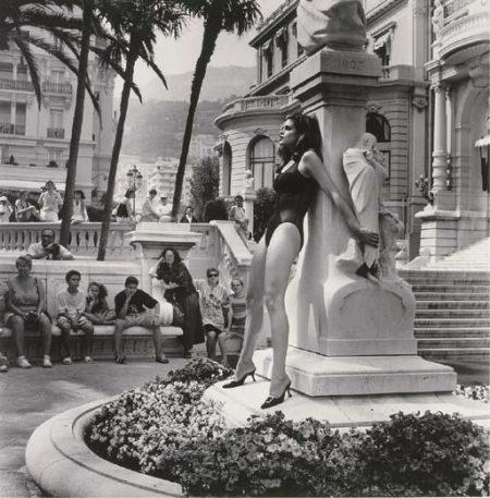 Helmut Newton-Cindy Crawford Admired, Monte Carlo (1991)-1991