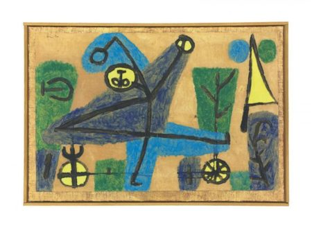 Paul Klee-Blauer Tanzer-1939
