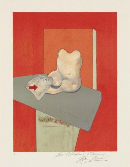 Francis Bacon-Etude du corps humain d'apres Ingres-1984