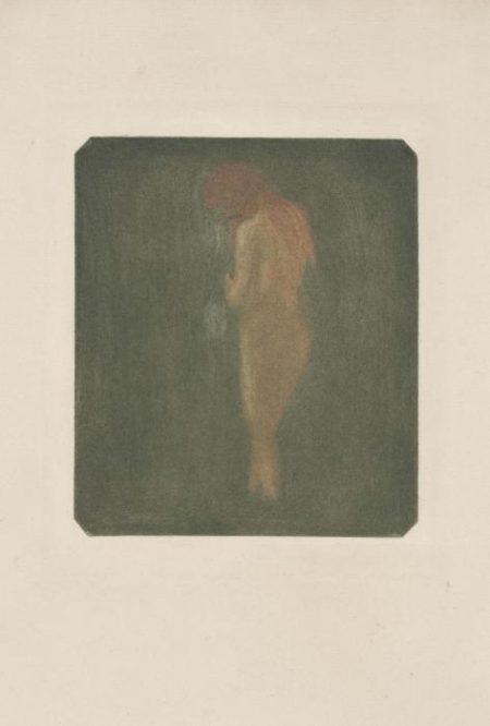 Edvard Munch-Standing Nude / Stehender Weiblicher Akt (Sch 39; W 46)-1896