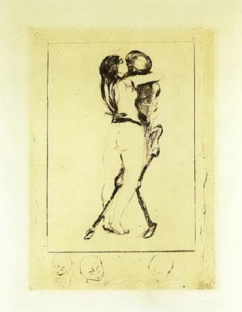 Edvard Munch-Der Tod und das Weib-1894