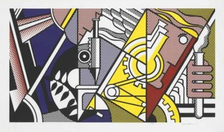 Roy Lichtenstein-Peace through Chemistry II-1970