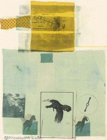 Robert Rauschenberg-Robert Rauschenberg - Why You Can't Tell # 1 (From Suite Of Nine Prints)-1979