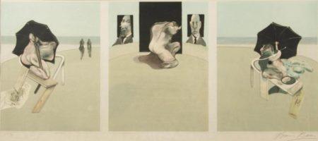 Francis Bacon-Metropolitan Triptych-1977