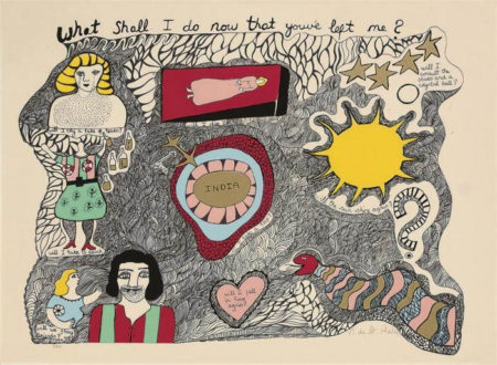 Niki de Saint Phalle-What Shall I do Now the You've Left Me-