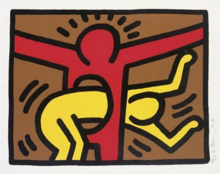 Keith Haring-Keith Haring - Pop Shop IV-1989