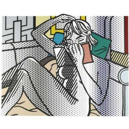 Roy Lichtenstein-Nude Reading-1994