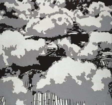 Gerhard Richter-Wolken (Clouds)-1968