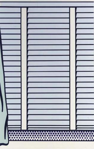 Roy Lichtenstein-Collage for Venetian Scholl II-1995