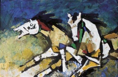Maqbool Fida Husain-Wounds-2005