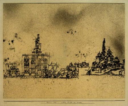 Paul Klee-Alte Stadt am Wasser-1924