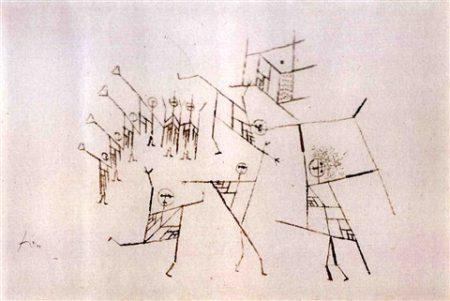Paul Klee-Fest Der Junglinge-1929