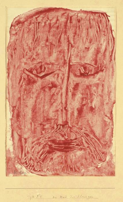 Paul Klee-Ein Mann Der Schmerzen-1933