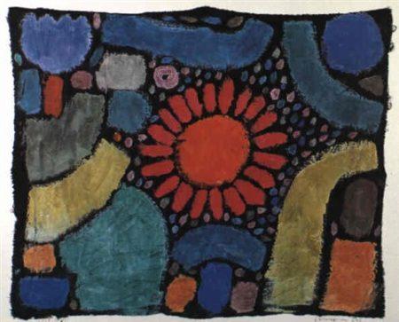 Paul Klee-Blume Im Tal (Flowers In Valley)-1938