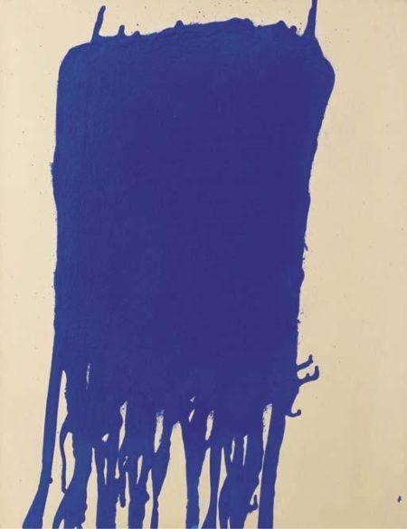 Yves Klein-La coulee bleue-1960