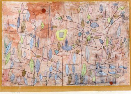 Paul Klee-Sparlich Belaubt-1934