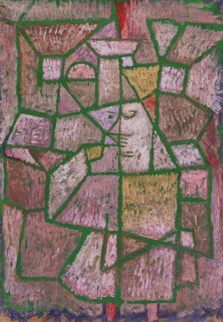 Paul Klee-Herr Der Stadt-1937