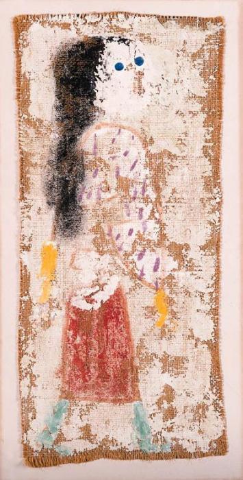 Paul Klee-D.Z. In Einer Madchenrolle-1938