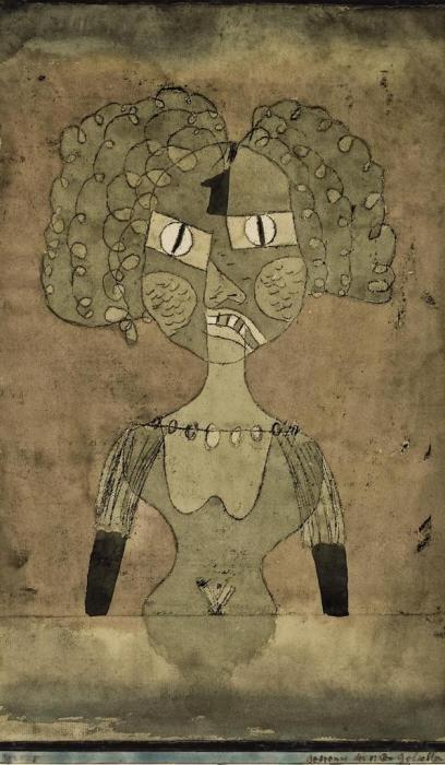 Paul Klee-Gespenst Der Ersten Geliebten-1924
