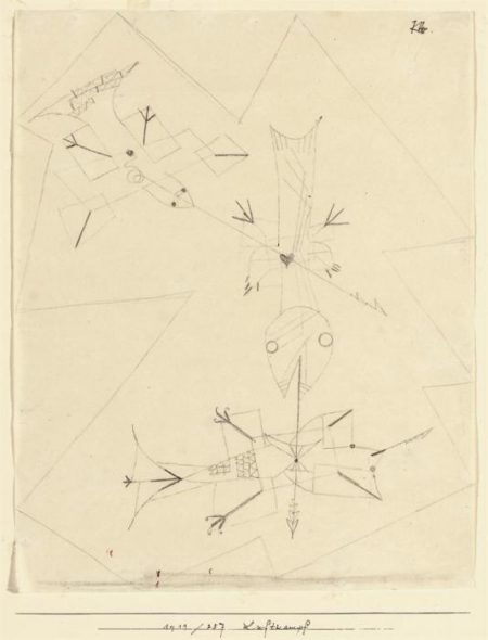 Paul Klee-Luftkampf-1919