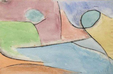 Paul Klee-Parklandschaft (Park Landscape)-1937