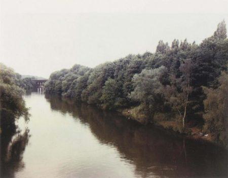 Andreas Gursky-Mulheim an der Ruhr, Angler-1989