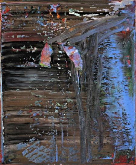 Gerhard Richter-AB, Mohn (AB, Poppy)-1986