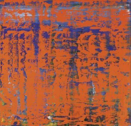 Gerhard Richter-Abstraktes Bild 742-3 (Abstract Painting 742-3)-1991
