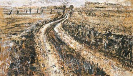 Anselm Kiefer-The Ridge Way-1983