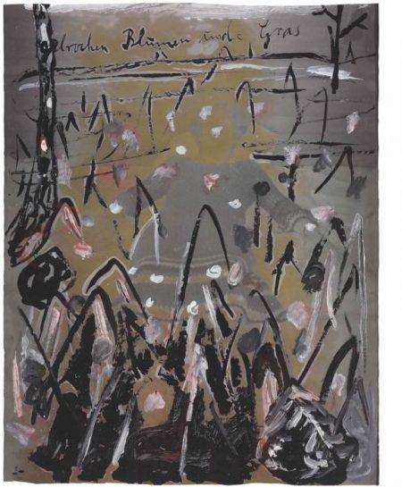 Anselm Kiefer-Gebrochene Blumen und Gras (Broken Flowers and Grass)-1980