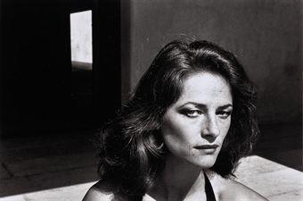 Helmut Newton-Charlotte Rampling, Saint Tropez (1967)-1967
