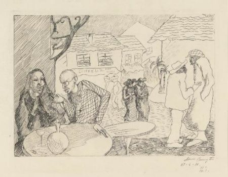 Leonora Carrington-Conversation; And 7 Smaller Etchings (1936)-1936