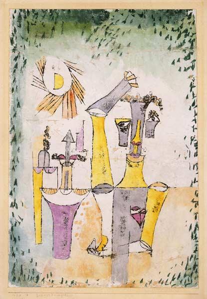 Paul Klee-Schwarzmagier-1920