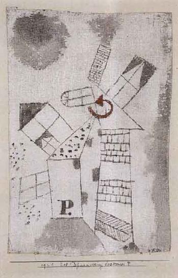 Paul Klee-Dynamisierung des Hauses P.-1921