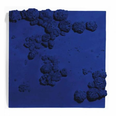 Yves Klein-Relief eponge bleu (RE 51)-1959