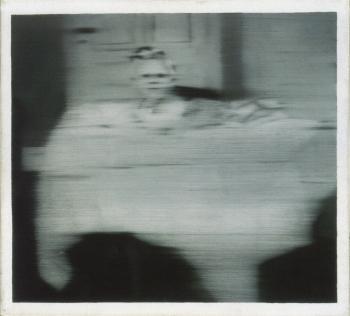Gerhard Richter-Saugling auf einem Tisch (Infant on a Table)-1965