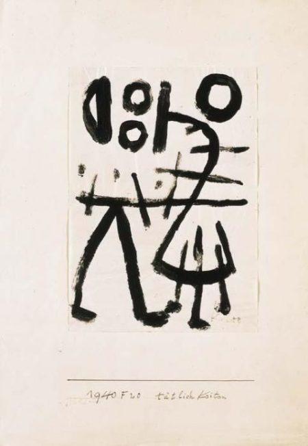 Paul Klee-Tatlichkeiten-1940