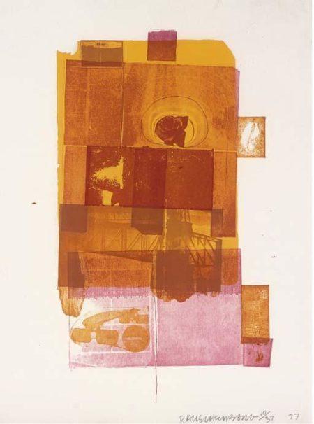 Robert Rauschenberg-Robert Rauschenberg - Untitled-1977