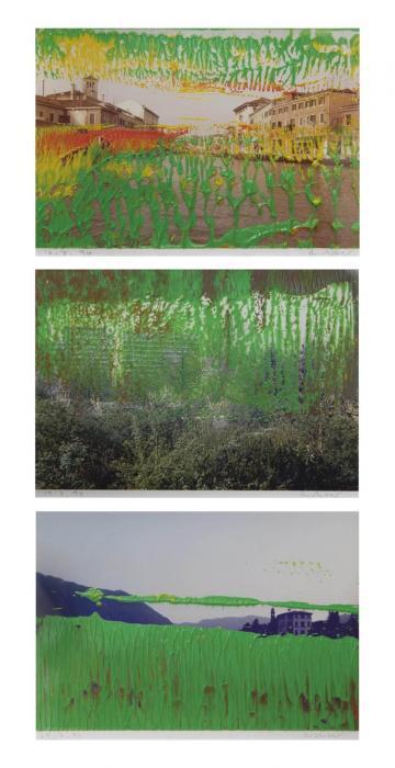 Gerhard Richter-Ohne Titel (16.7.94) / Untitled (16.7.94); Ohne Titel (19.7.94) / Untitled (19.7.94); Ohne Titel (20.7.94) / Untitled (20.7.94)-1994