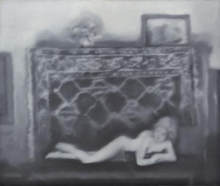 Gerhard Richter-Kleiner liegender Akt (Small Reclining Nude)-1967