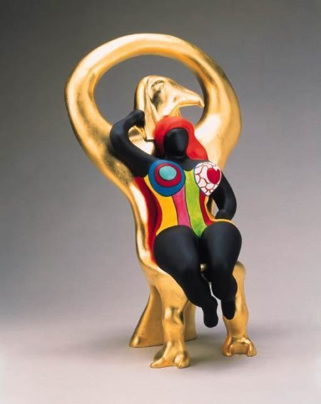 Niki de Saint Phalle-Horus et sa Grace-