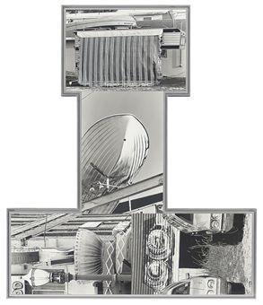 Robert Rauschenberg-Robert Rauschenberg - Photem series I #5-1991