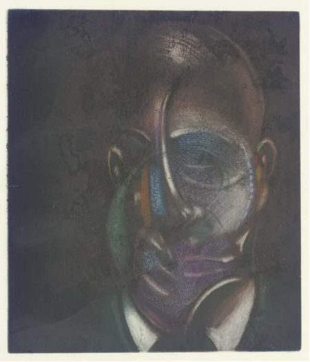 Francis Bacon-Portrait of Michel Leiris-1976