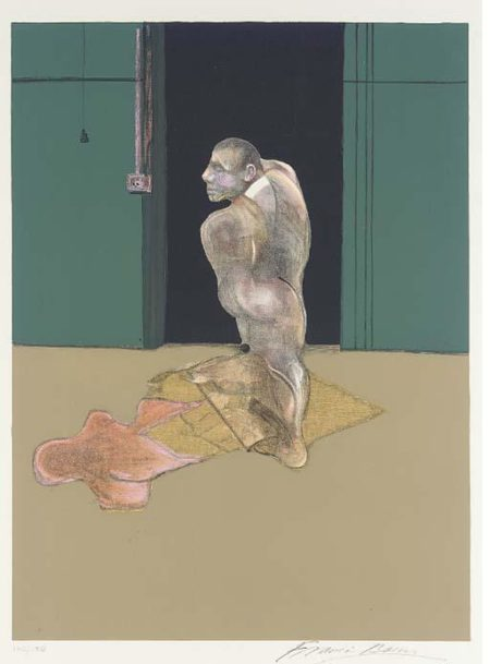 Francis Bacon-Right Panel, from The Studies for a Portrait of John Edwards-1984