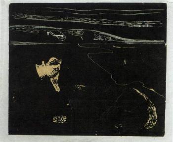 Edvard Munch-Melancholy I-1896