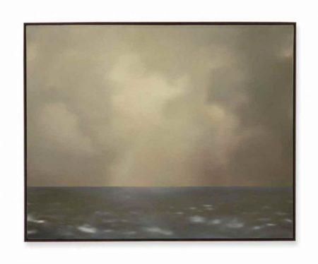 Gerhard Richter-Seestuck (Oliv bewolkt) / Seascape (With Olive Clouds)-1969