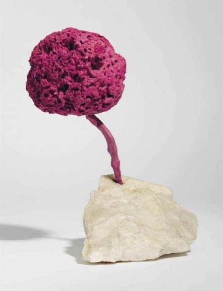 Yves Klein-Sculpture-eponge rose sans titre, (SE 204)-1959