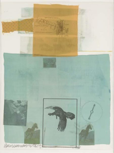Robert Rauschenberg-Robert Rauschenberg - Why you can't tell #1 (From Suite Of Nine Prints)-1979