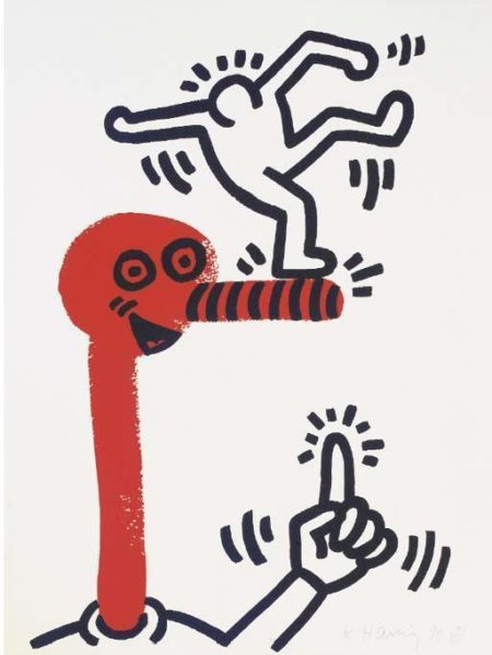 Keith Haring-Keith Haring - The Story of red and blue-1989